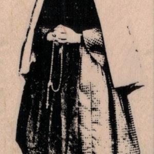 Saint Bernadette 2 1/4 x 4-0