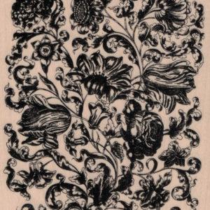 Victorian Flower Background 4 1/2 x 5 1/2-0