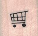 Tiny Shopping Cart 3/4 x 3/4