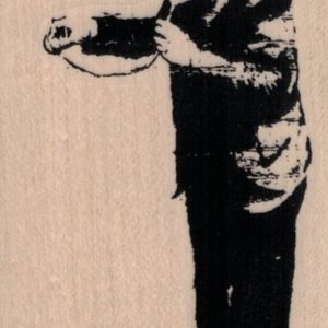 Banksy Doctor 2 1/4 x 4-0