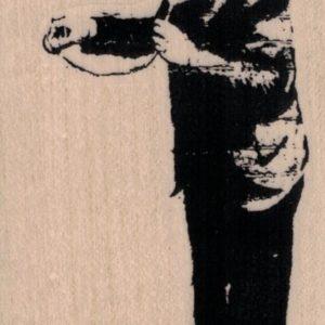 Banksy Doctor 2 1/4 x 4-0