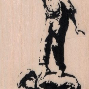 Banksy Graffiti Is Not A Crime Kids 2 x 4 1/4-0