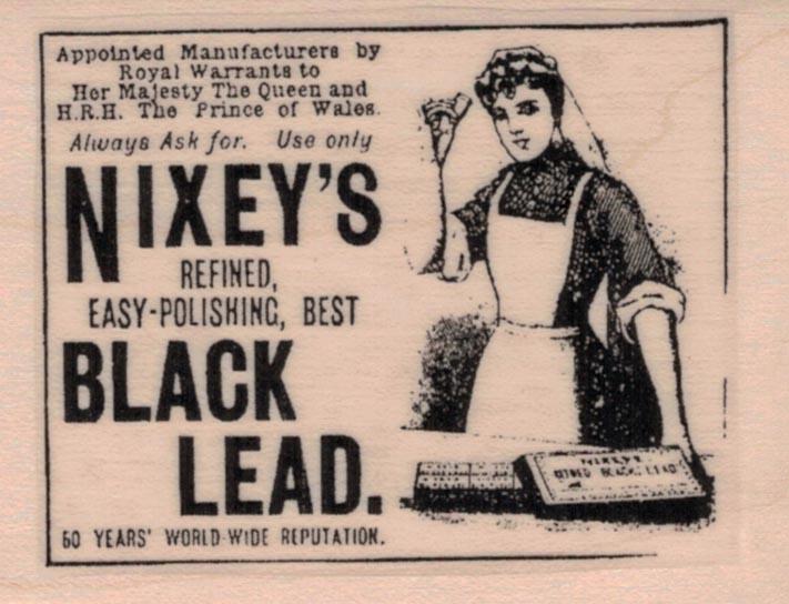 Nixey's Black Lead Ad 2 x 2 1/2