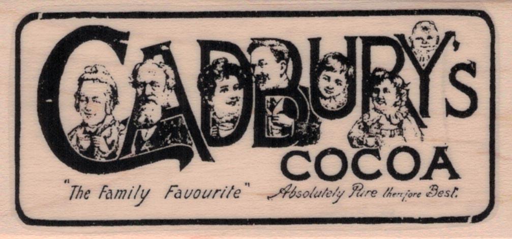 Cadbury's Cocoa Ad 1 3/4 x 3 1/2